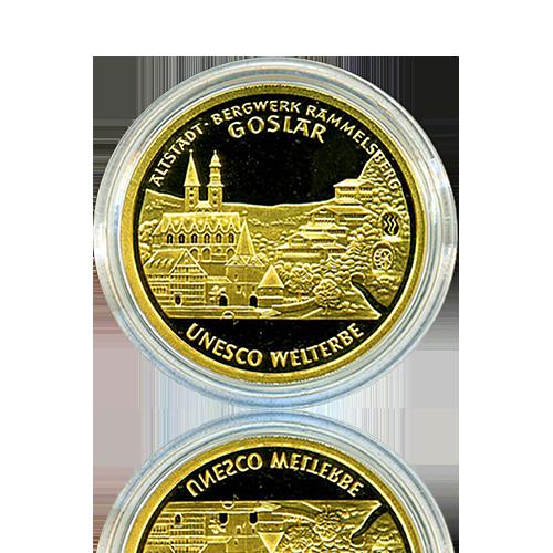 100 Euro Deutschland 2008 Goslar - 1/2 Unze Gold