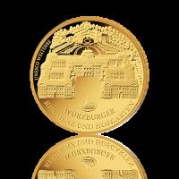100 Euro Deutschland 2010 Würzburg 1/2 Unze Gold