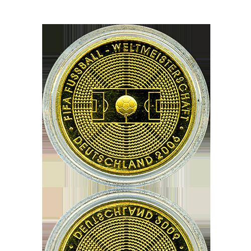 100 Euro Deutschland 2005 Fussball - 1/2 Unze Gold