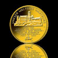 100 Euro Deutschland 2011 Wartburg - 1/2 Unze Gold