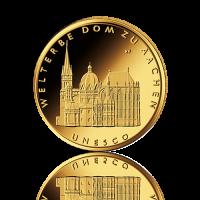 100 Euro Deutschland 2012 Aachener Dom - 1/2 Unze Gold