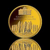 100 Euro Deutschland 2013 Dessau-Wörlitz - 1/2 Unze...