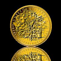 100 Euro Deutschland 2015 O. Mittelrheintal - 1/2 Unze Gold