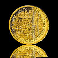 100 Euro Deutschland 2016 Regensburg - 1/2 Unze Gold