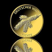 SET 20 Euro Deutschland Fichte 1/8 Oz Gold 2012