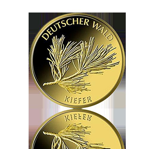 SET 20 Euro Deutschland Kiefer 1/8 Oz Gold 2013