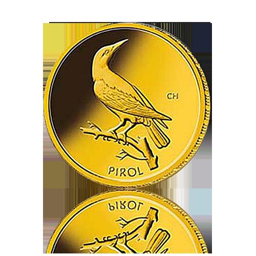 20 Euro Deutschland Pirol Gold 2017 ohne COA