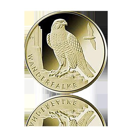 20 Euro Deutschland heim. Vögel / Wanderfalke 2019 A