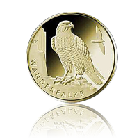 SET 20 Euro Deutschland heim. Vögel / Wanderfalke 2019