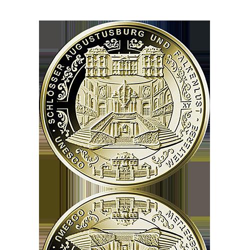 100 Euro Deutschland 2018 Augustusburg - 1/2 Unze Gold
