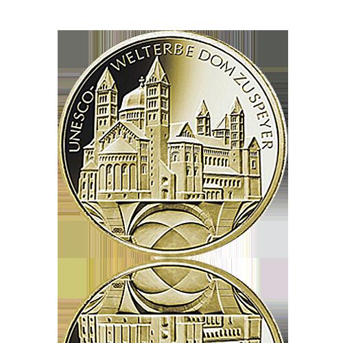 100 Euro Deutschland 2019 Dom zu Speyer - 1/2 Unze Gold