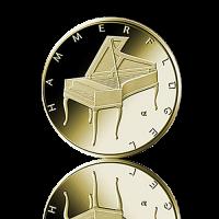 BRD 2019 Hammerflügel Gold 50 Euro 1/4 Unze