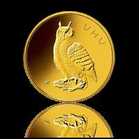 20 Euro Deutschland heim. Vögel / Uhu Gold 2018
