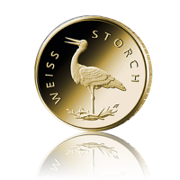 20 Euro Deutschland heim. Vögel / Weißstorch