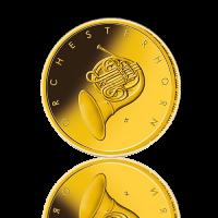 BRD 2020 Orchesterhorn Gold 50 Euro 1/4 Unze