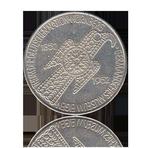 5 DM 1952 Germanisches Museum