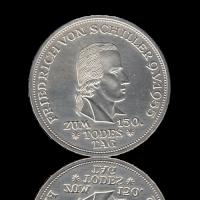 5 DM 1955 Friedrich von Schiller