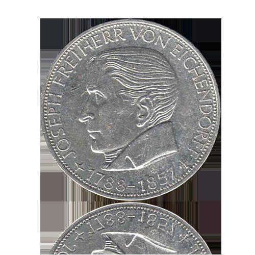5 DM 1957 Freiherr von Eichendorff