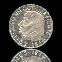 5 DM 1964 Johann Gottlieb Fichte