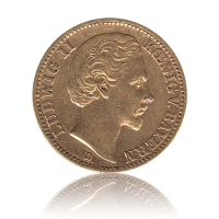 20 Mark Bayern Gold Ludwig II.