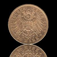 20 Mark Bayern Gold Otto II.