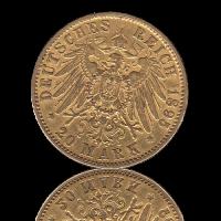 20 Mark Hamburg Gold J.212