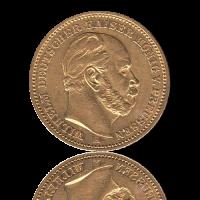 20 Mark Preussen Gold Wilhelm I.
