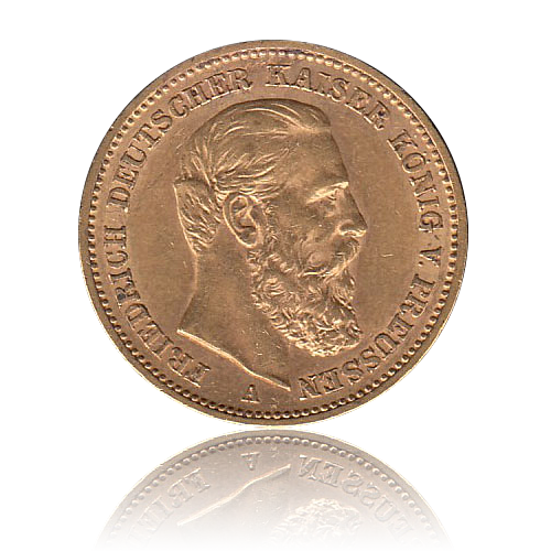 20 Mark Preussen Gold Friedrich III.
