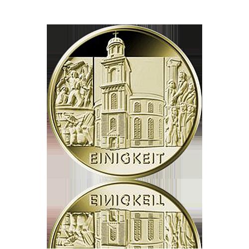 100 Euro Deutschland 2020 Einigkeit - 1/2 Unze Gold A