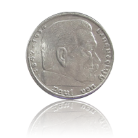100 x 5 RM Hindenburg Silber Investmentpaket