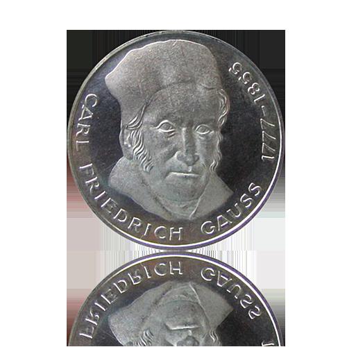 500 x 5 DM Gedenkmünzen 1968-79