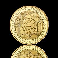 200 Euro Deutschland Euro Einführung 2002 Gold