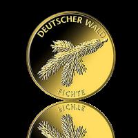 20 Euro Deutschland Fichte 1/8 Oz Gold 2012