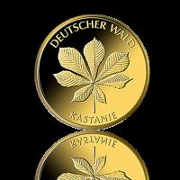 20 Euro Deutschland Kastanie 1/8 Oz Gold 2014