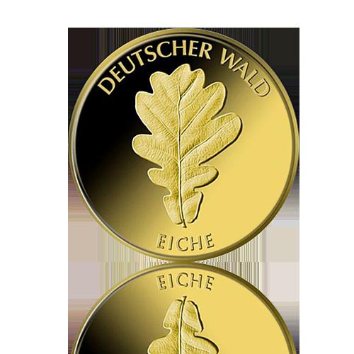 20 Euro Deutschland Eiche 1/8 Oz Gold 2010