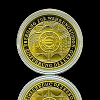 100 Euro Deutschland 2002 Währungsunion - 1/2 Unze Gold
