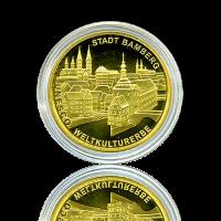 100 Euro Deutschland 2004 Bamberg - 1/2 Unze Gold