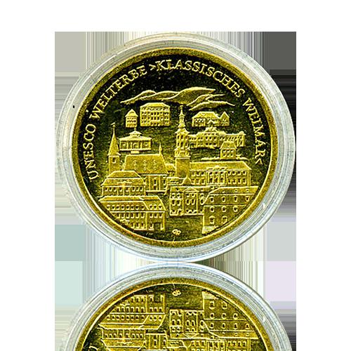 100 Euro Deutschland 2006 Weimar - 1/2 Unze Gold
